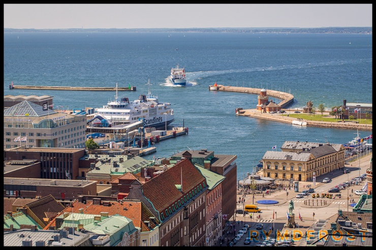 Hamnen i Helsingborg